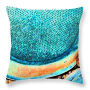 Perforated II Throw Pillow