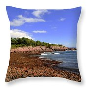 Perkins Cove Throw Pillow