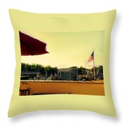 Perkin's Cove - Ogunquit Me - Number 3 Throw Pillow