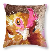 Perkly Nugget Throw Pillow