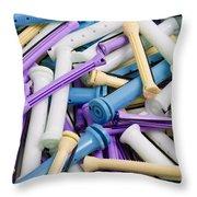 Perm Rods 5 Throw Pillow
