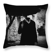 Pero A Veces.. Throw Pillow by Taylan Apukovska