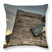 Perot Museum Throw Pillow