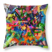 Perpetual Encounter With Providence 4 Throw Pillow