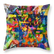 Perpetual Encounter With Providence 6 Throw Pillow
