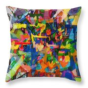 Perpetual Encounter With Providence 7 Throw Pillow