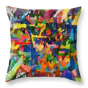 Perpetual Encounter With Providence 7a Throw Pillow