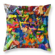 Perpetual Encounter With Providence 7b Throw Pillow