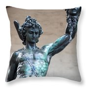 Perseo  Throw Pillow