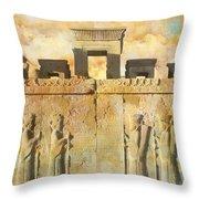 Persepolis  Throw Pillow