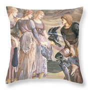 Perseus And The Sea Nymphs, C.1876 Throw Pillow