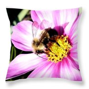 Persistence Into October Throw Pillow