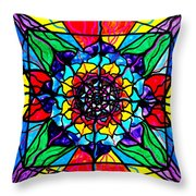 Personal Expansion Throw Pillow