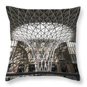 Perspective Design Throw Pillow