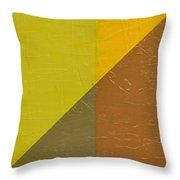 Perspective In Color Collage 10 Throw Pillow by Michelle Calkins