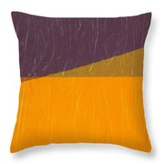 Perspective In Color Collage 11 Throw Pillow by Michelle Calkins