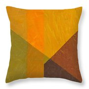 Perspective In Color Collage 5 Throw Pillow