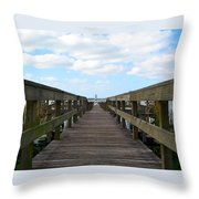 Perspective Lighthouse Throw Pillow