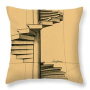 Perspective Study Throw Pillow