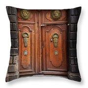 Peruvian Door Decor 10 Throw Pillow