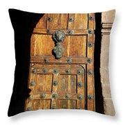 Peruvian Door Decor 17 Throw Pillow