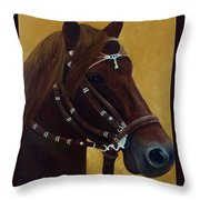 Peruvian Horse Throw Pillow