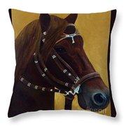 Peruvian Horse Throw Pillow