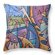 Pescador De Ilusoes  - Fisherman Of Illusions Throw Pillow