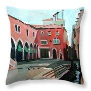 Pescheria Throw Pillow