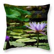 Petal Balancing Act Throw Pillow