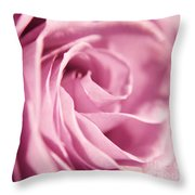 Petal Folds Throw Pillow