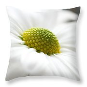 Petal Froth Throw Pillow