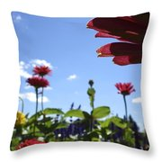 Petal Nation Throw Pillow