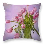 Petal Pusher  Throw Pillow