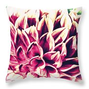 Petaled Throw Pillow