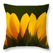 Petales De Soleil - A01 Throw Pillow