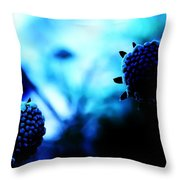 Petalless Throw Pillow