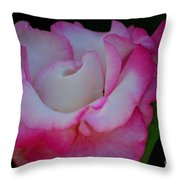 Petals Abstract Throw Pillow