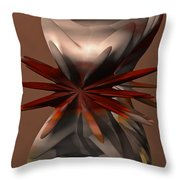 Petals And Stone Throw Pillow
