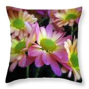 Spring Bouquet Throw Pillow