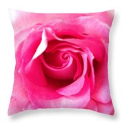 Petals Of Beauty Throw Pillow