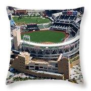 Petco Park San Diego Ca Throw Pillow by Bill Cobb