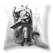 Peter Abelard (1079-1142) Throw Pillow