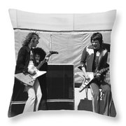 Day On The Green 6-6-76 #2 Throw Pillow