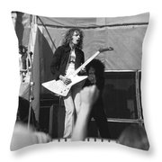 Day On The Green 6-6-76 #6 Throw Pillow