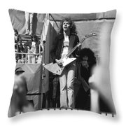 Day On The Green 6-6-76 #5 Throw Pillow