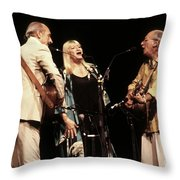 Peter Paul And Mary Throw Pillow