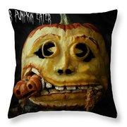 Peter Peter Pumpkin Eater Throw Pillow