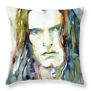 Peter Steele Portrait.4 Throw Pillow