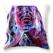 Peter Stuyvesant Throw Pillow